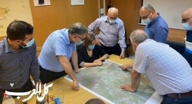 نواب التجمع في زيارة لبلدية طمرة ومجلس جديدة المكر