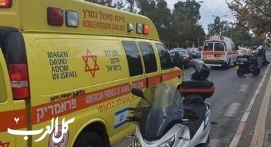 أريئيل: إصابة فتى بجراح خلال قيادة سكوتير