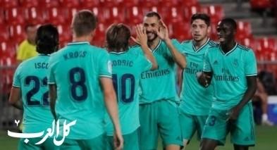 ريال مدريد يضع يدا على لقب الدوري الإسباني