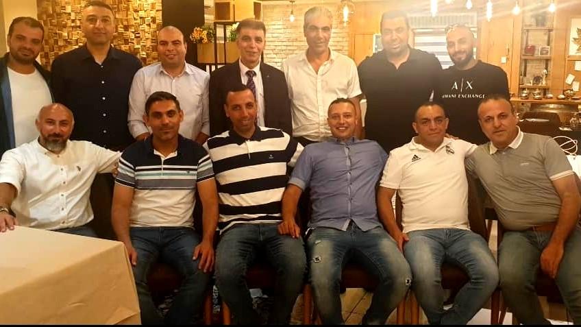 حفل تكريم طاقم مدربي مدرسة كرة القدم عين ماهل