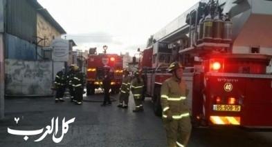 اللد: إصابات إثر حريق شبّ بشقة سكنية