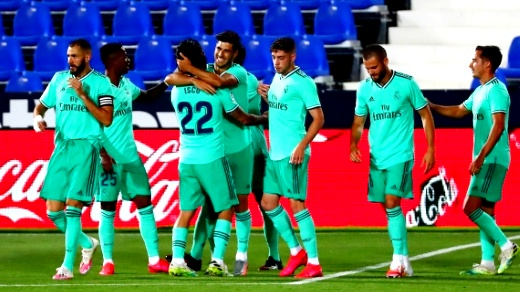 ريال مدريد ينهي الدوري الإسباني بالتعادل مع ليجانيس