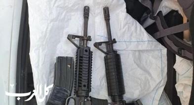 إبطن: إعتقال مشتبه بحيازة سلاح وذخيرة