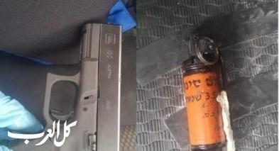 إبطن: إعتقال مشتبه بحيازة مسدس وقنبلة