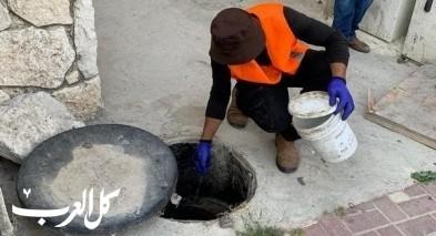 مجلس يافة الناصرة: حملات لرش المبيدات والتعقيم