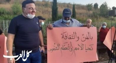 الفنانون العرب ينظّمون وقفة احتجاجية
