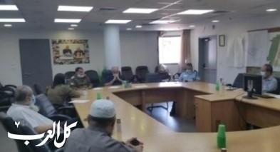 بلدية الطيبة تعقد إجتماعًا طارئًا