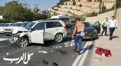 حادث طرق مروّع في مدينة القدس