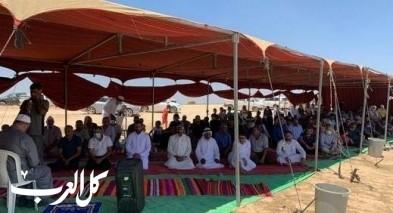 خربة الوطن: تأدية صلاة الجمعة بخيمة الإعتصام
