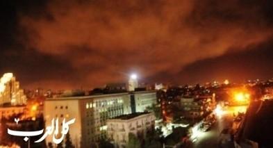 مروحيات اسرائيلية تقصف اهدافًا سورية