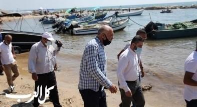 الوفاء والإصلاح في زيارة لقرية الصيادين