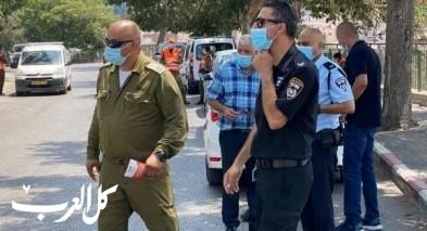 عين ماهل: الشرطة والجبهة الداخلية بحملة توعية