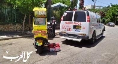 حيفا: إصابة رجل (63 عاما) وحالته متوسطة