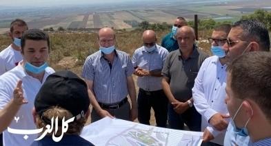 يافة الناصرة: بدء التخطيط لاقامة دار البلدية الجديد