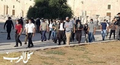 مستوطنون اقتحموا المسجد الأقصى بحماية الشرطة