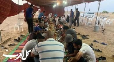 إفطار جماعي في خربة الوطن في يوم عرفة
