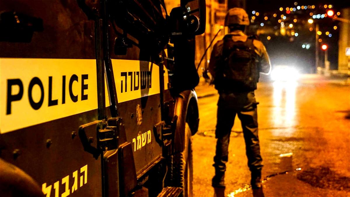 اعتقال عناصر في حرس الحدود الإسرائيلي