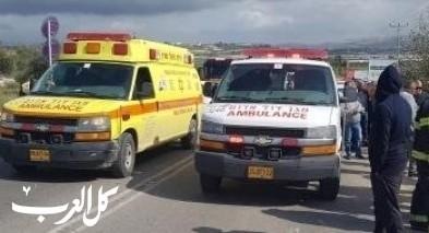 بيتح تكفا: إصابة شابة (28 عامًا) بجراح إثر حادث طرق