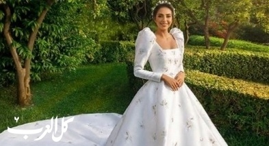 زفاف فاليري أبو شقرا بإطلالة أنيقة تفيض جمالاً