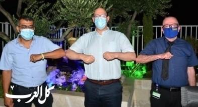 مدير مستشفى هعيمك في العفولة يزور سولم