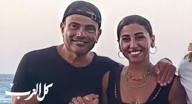 صور|عمرو دياب وحبيبته في الساحل الشمالي
