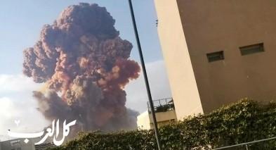 أنباء عن مئات القتلى والجرحى في بيروت بعد انفجار