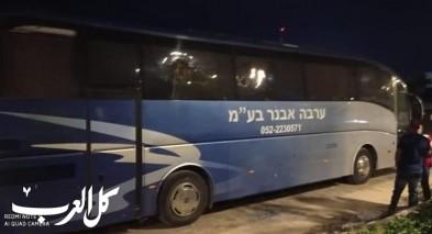 متطرفون قاموا بتكسير حافلة شاب من زيمر