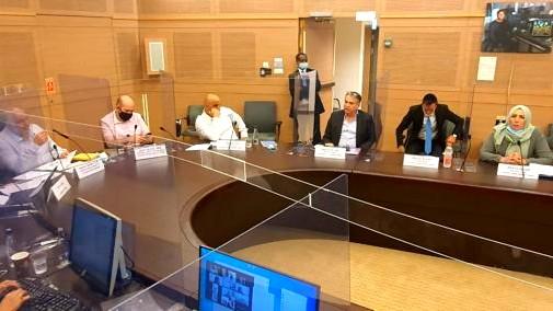 لجنة مكافحة العنف تناقش خطة وزارة التربية