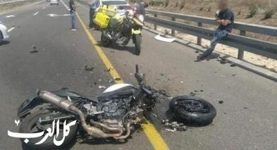 إصابة راكب دراجة نارية بجراح خطيرة إثر حادث قرب أشدود
