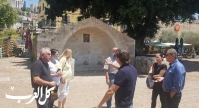 بلدية الناصرة تجتمع بممثلي وزارة السياحة