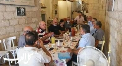 جلسة خاصّة لمرشدي السياحة العرب