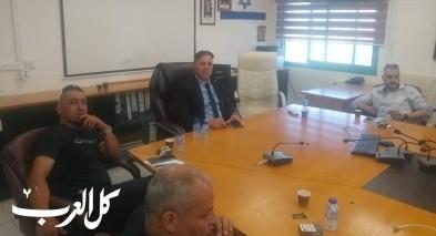 دير حنا - المجلس يبحث قضية افتتاح السنة الدراسية