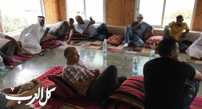 النقب: اجتماع في بئر الحمام لتوحيد لجان القرى المتضررة من الككال