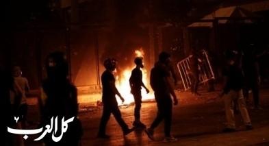متظاهرو بيروت يقتحمون وزارتين