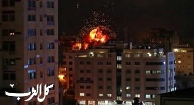 الجيش الاسرائيلي يشن غارات في غزة