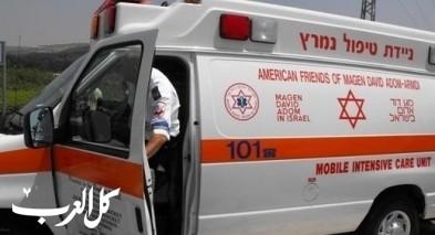 النقب: اصابة طفلة بعد نسيانها  في سيارة