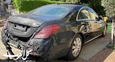 تصريح مدعٍ ضد مشتبه من اللد باضرام النيران بسيارة