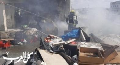 باقة الغربية: إصابة إثر اندلاع حريق