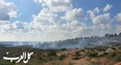 زيمر: إندلاع حريق هائل في منطقة وعرية