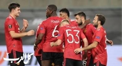 """مانشستر يونايتد يتخطى كوبنهاجن بـ""""صعوبة بالغة"""""""