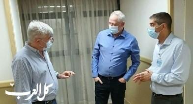وزير الامن ونائب رئيس الوزراء بني غانتس يخضع لعملية جراحية