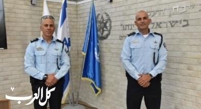 تعيين قائد جديد لمحطة شرطة رهط