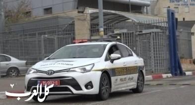عكا: اعتقال مشتبه بثقب إطارات مركبات