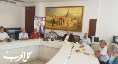 مدير مؤسسة التأمين الوطني يزور بلدية الناصرة