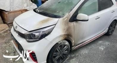 البعنة: مجهولون يقومون بإحراق 7 سيارات