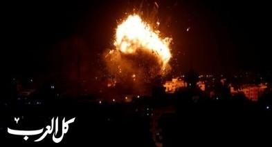 سلسلة غارات إسرائيلية على عدة مواقع في غزة