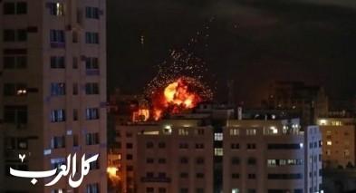 إصابة مواطن في قصف اسرائيلي على قطاع غزة