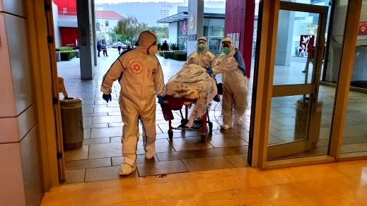 مستشفى بادا بوريا: 20 مصابا بالكورونا يتلقى العلاج