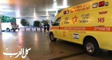 يركا: اصابة شاب اثر سقوط حمولة رافعة