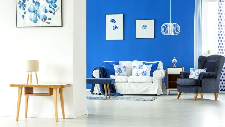 ديكور المنزل: اللون الأزرق.. سلام وهدوء